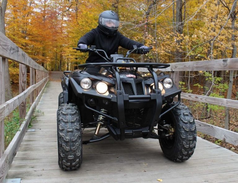 electric atv for hunt camp