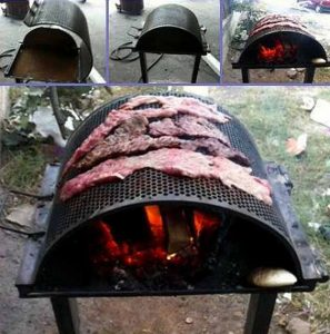 fire pit barbeque